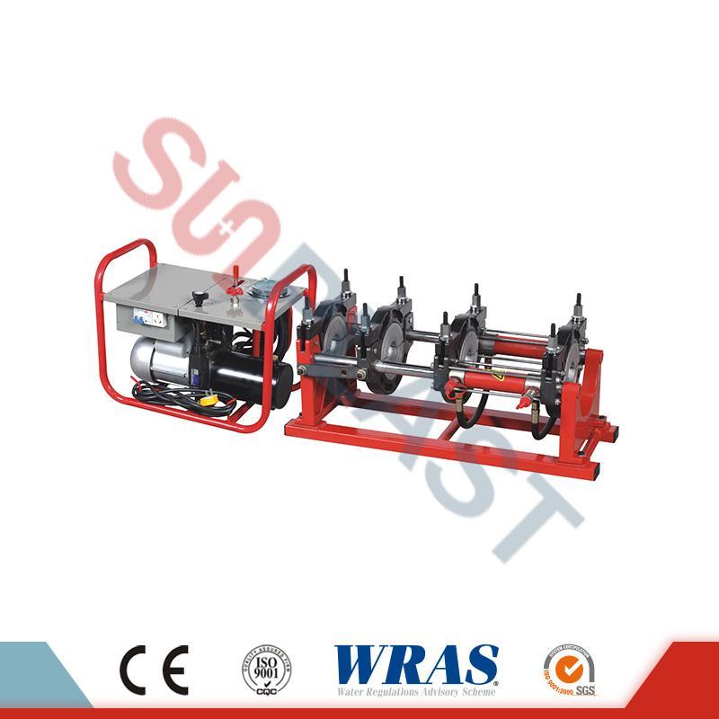 HDPE Boru için 63-160mm Hidrolik Alın Füzyon Kaynak Makinası