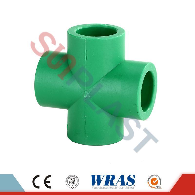 DIN8077 PPR Çapraz Bağlantı Parçaları